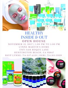 Healthy Inside & Out Open House @ Lynne Martin's Home
